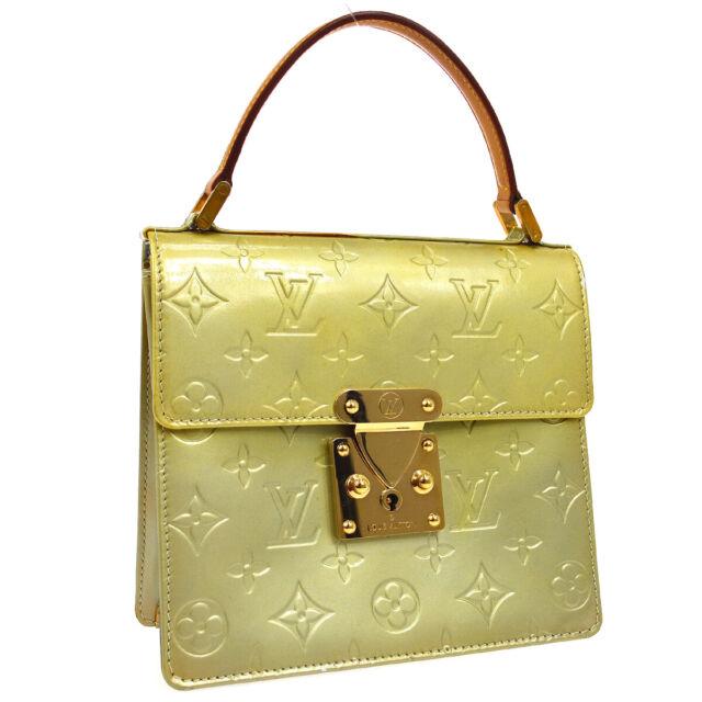Louis Vuitton Vernis Spring Street Hand Bag Purse Gris M91029 Ak25733i For Sale Online Ebay