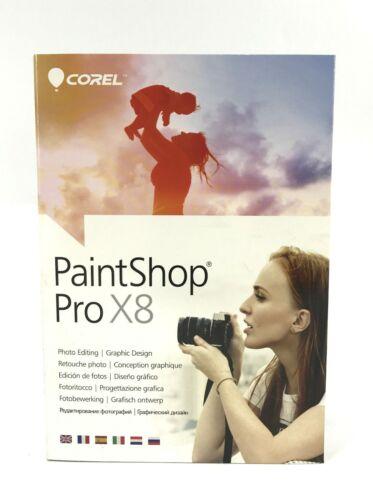 COREL PAINT SHOP PRO X8 PSPX8MLMBAM PHOTO EDITING /& GRAPHIC DESIGN #6790