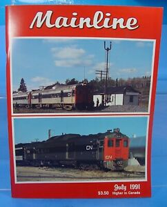 HO,S,N,O MAINLINE MODELER MAGAZINE NOVEMBER 1990 TABLE OF CONTENTS PICTURED