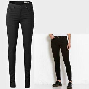 Femmes-Taille-Haute-Super-Skinny-Jeans-Bnwt-Tailles-8-10-12-14-S-XL-leg-31-32-33