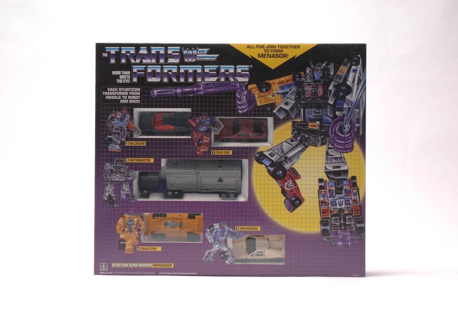 HASBRO Transformers Universe Generations G1 G1 G1 Menasor Stunticons Super Warrior ca8feb