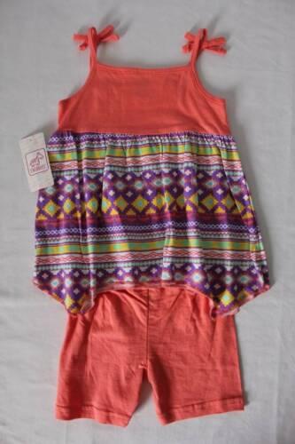 Baby Girls 2 Piece Set Size 18 Months Tank Top Shirt Shorts Outfit Shark Bite