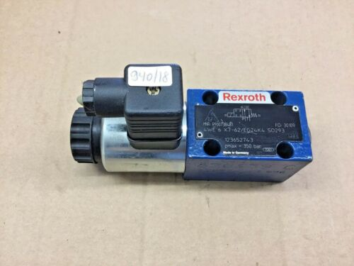 Rexroth 4we6x7-62//eg24k4 so293 caminos válvula 940//18