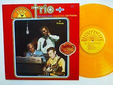 JERRY LEE LEWIS Charlie Rich CARL PERKINS Trio + LP Gold vinyl NEAR-MINT  Lc132