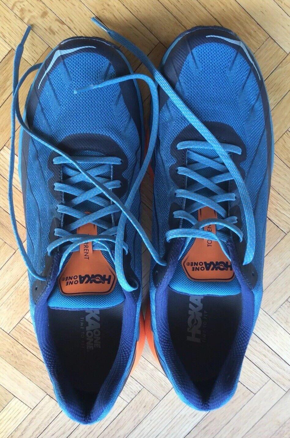 Hoka One Torrent para hombres talla 13 One Acolchada Trail Zapatos