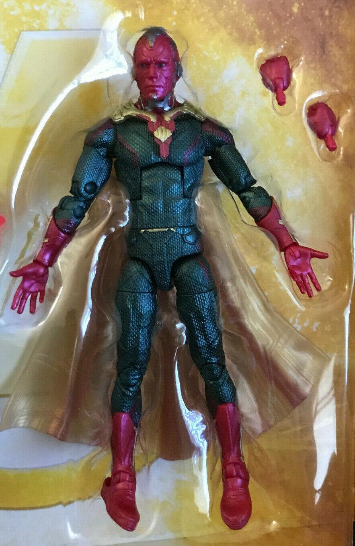 Marvel Legends 6  Vision Vengadores Infinito Guerra MCU Menta Con Accesorios Jarvis