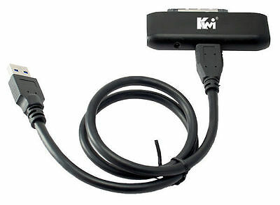Kingwin ADP-10 USB 3.0 to SATA Adaptor for SSD and SATA HDD// Compatible w//GoFlex