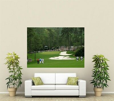 Augusta National Golf Course Giant 1 Piece  Wall Art Poster SP102