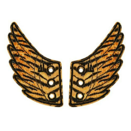 6 to choose from! Shwings Wings for your Shoes Safari /& Animal Prints
