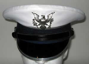 USAF USAFA US Air Force Academy Cadet Service Dress Whites Hat Cap 7 or 56