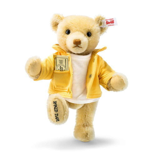 Steiff 663420 Willy Wonka and the Chocolate Factory Teddy bear Charlie Bucket