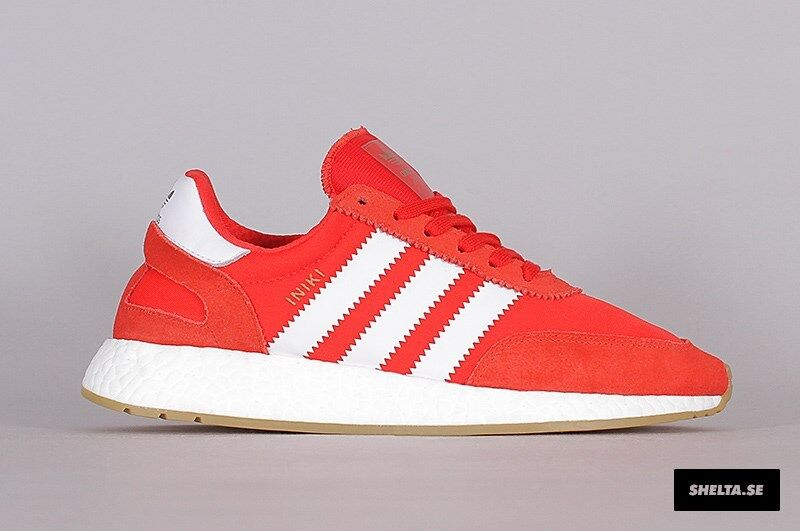 Adidas Gum Iniki Runner Red White Gum Adidas Size 4. BB2091 yeezy nmd ultra boost pk 2eb0fe