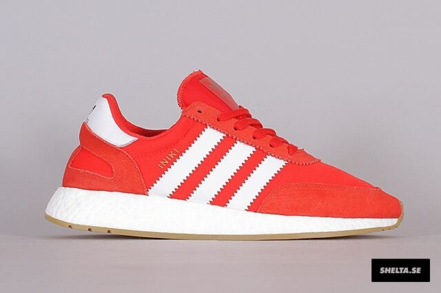 quality design bc50b 1a953 Adidas Iniki Runner Red White Gum Size 4. BB2091 yeezy nmd ultra boost pk