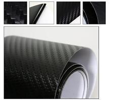 3D BLACK Carbon Fibre Textured Car Wrapping Vinyl Gadget: 50CMx 1.52M