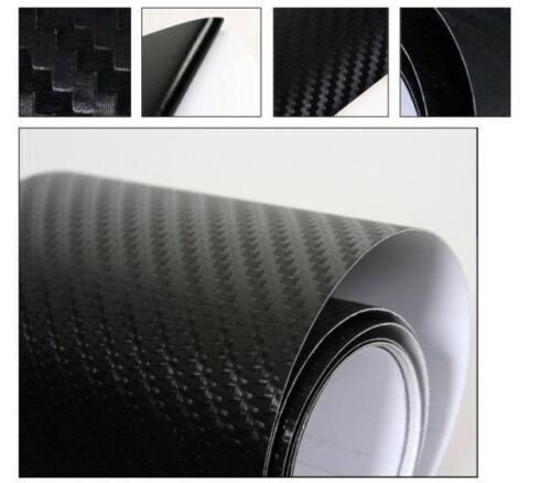30CMx 1.52M Top Quality 3D BLACK Carbon Fibre Textured Car Wrapping Vinyl