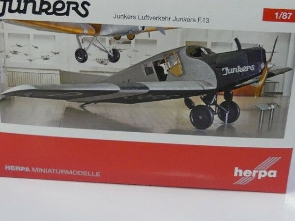 1 87 Herpa Junkers aérien Deutsches Museum de Munich f13-d-366 019378