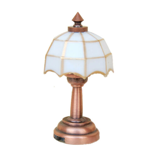 1//12 Scale Dollhouse Miniature Battery Operated Table Lamp Light  LD006E