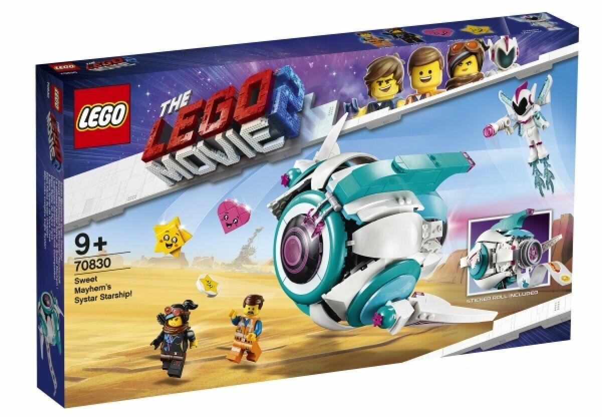 LEGO MOVIE 2 Sweet mischmaschs Systar vaisseau 70830 nouveau