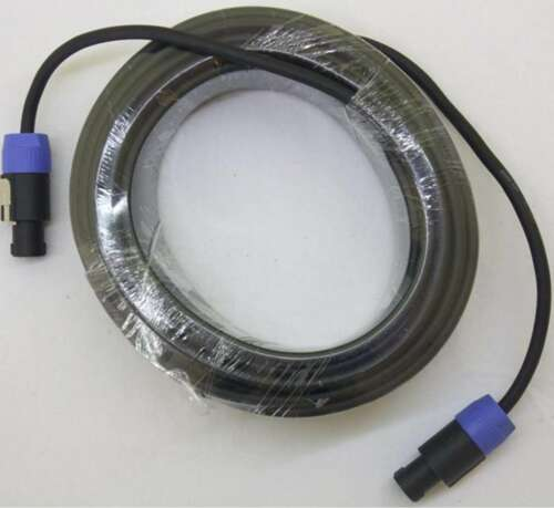 2x 20 m ADAM HALL Profi Speaker Kabel 2 x 2,5 qmm Lautsprecherkabel Speakerkabel