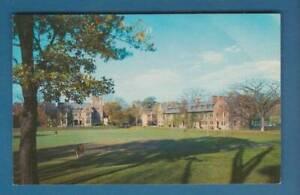 Postcard-Hobart-College-quadangle-Geneva-NY-Vintage-64