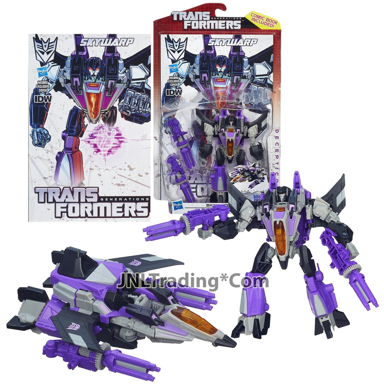 Year 2013 Hasbro Transformers Generations Thrilling 30 Deluxe classe 6 cieloWARP