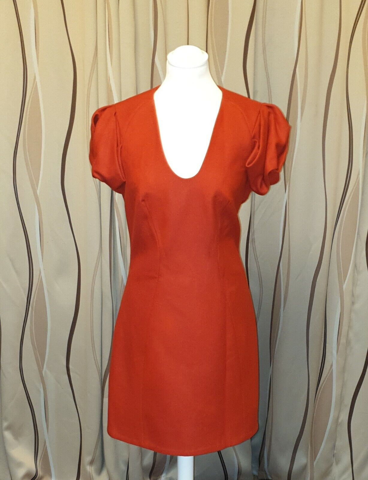 Damen Kleid Cos   Gr.40   rot