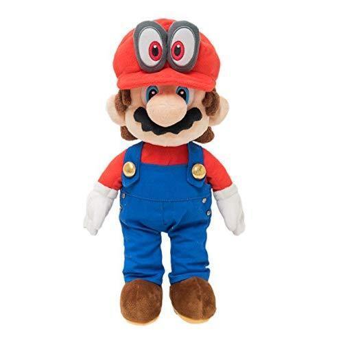 Super Mario Odyssey Plush Doll Stuffed Toy Mario 34cm Japan with Tracking EMS