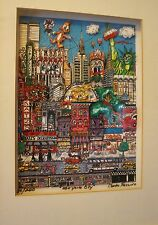 CHARLES FAZZINO 3 D ART '''NEW YORK CITY''' LMTD ED OF 200 ONLY ARTIST SIGNED
