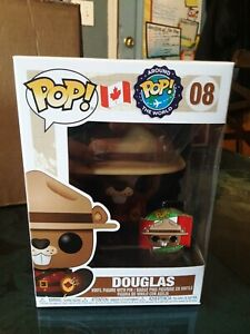 Pop Around The World Canada 3.75 Inch Action Figure Douglas #08