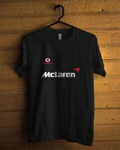 McLaren Elva Racing Vintage Style T-Shirt Big Wing Road Race Can Am