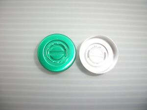 500-GREEN-CENTER-TEAR-OUT-ALUMINIUM-LIDS-FOR-20MM-VIAL-BOTTLES