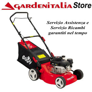 Tagliaerba-a-Scoppio-GRIZZLY-BRM-4210-20-motore-a-benzina-Tosaerba-Rasaerba