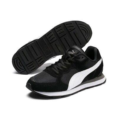 Puma Vista Jr Women Children Unisex Trainers Shoes Retro 369539 Black   eBay