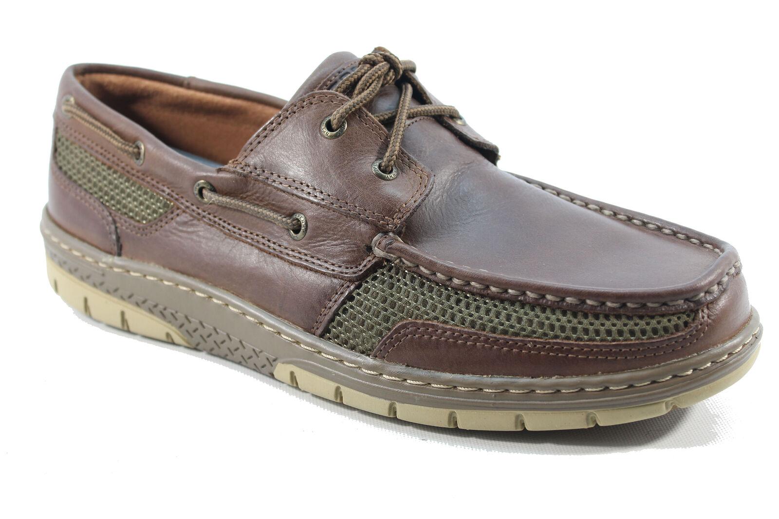 Sperry Top-Sider Men's Tarpon Ultralite Dark Brown Boat Shoes NWB