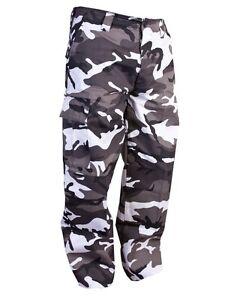 Hombre Kombat Combate Cargo Caminar Exterior Militar Pantalones Camuflaje Urbano Ebay
