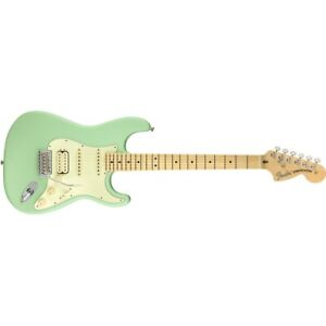 Fender-American-Performer-Stratocaster-HSS-Electric-Guitar-Satin-Surf-Green