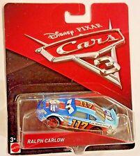 Disney Pixar Cars 3 Ralph Carlow #117 lil torquey Pistons Mattel 1:55 Diecast