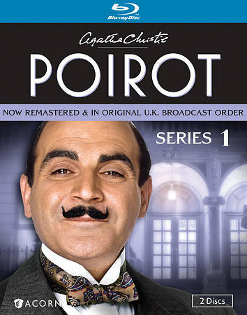 Agatha Christies Poirot Series 1 Blu Ray Disc 2012 2 Disc Set For Sale Online Ebay