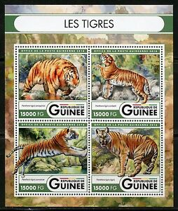 Guinee-2016-les-tigres-feuille-neuf-sans-charniere