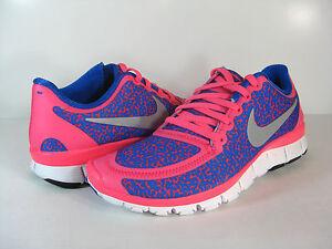 Nike Free Run 5.0 V4 Shoes  Hyper Pink / Hyper Cobalt /
