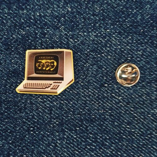 kraftwerk Computer World Enamel Pin Badge