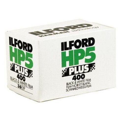 ILFORD HP5 400 ISO  36 Aufnahmen  5 Filme DER KLASSIKER MHD 03//2020