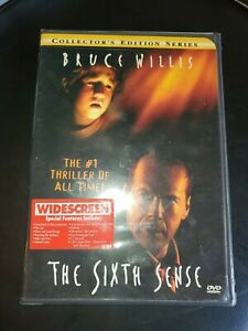 The-Sixth-Sense-DVD-2000-Widescreen-6th-Bruce-Willis-New-Sealed-Free-Ship