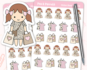 papelería personalizada Pegatinas Planificador de compras Pegatinas-Journal álbum de recortes