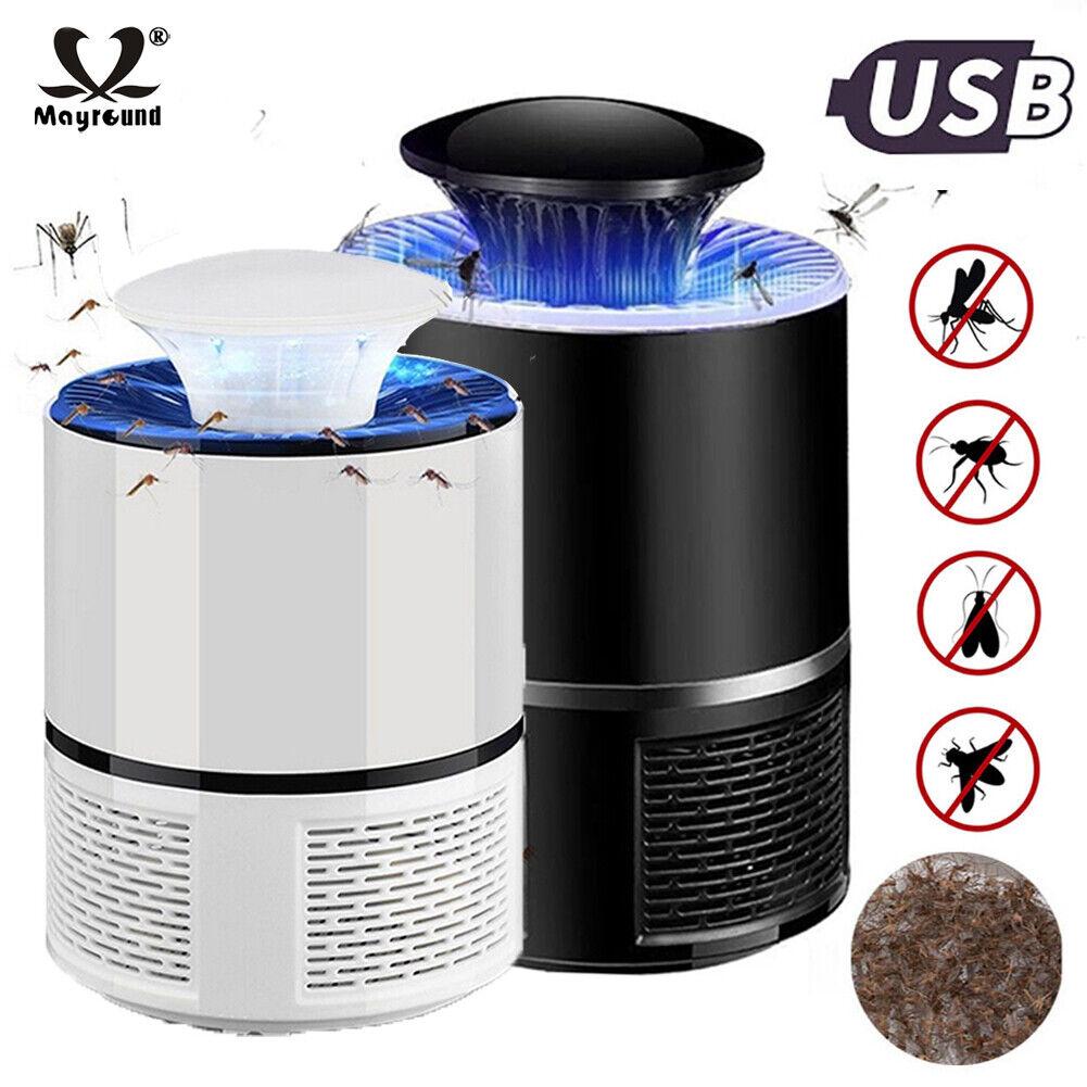 Electric Zapper Mosquito Killer Lamp 5V USB Fly Bug Pest Trap 360° LED Lamp SP