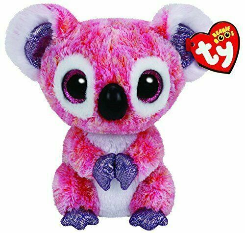 Ty Beanie Boos Plush 36149 Kacey The Pink Koala 15cm For Sale Online Ebay