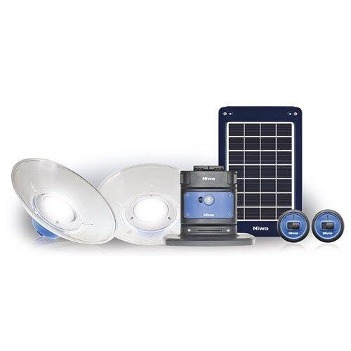 USB Solar LED Light Kit Niwa Home 200X2 indoors or outdoors Lithium Battery