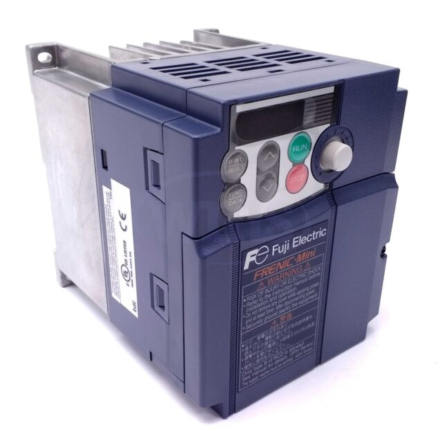 Fuji FRN0005C2S-4U 2 HP 460V 3Ph In Frenic-Mini C2 VFD Inverter 460V 3Ph Out
