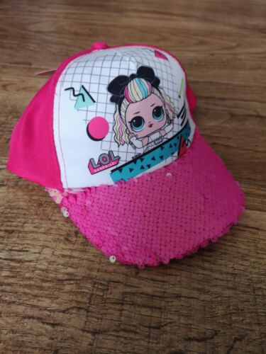 Sun Hat LOL Surprise pink Baseball Sequins Switch Cap