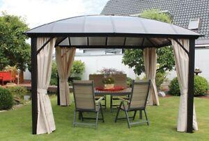 Pavillon kuppeldach wasserdicht stabil alugestell inkl. 4